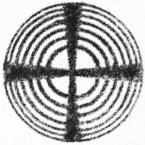 EB1911 Crystallography - Fig. 97.—Interference Figure of a Uniaxial Crystal.jpg