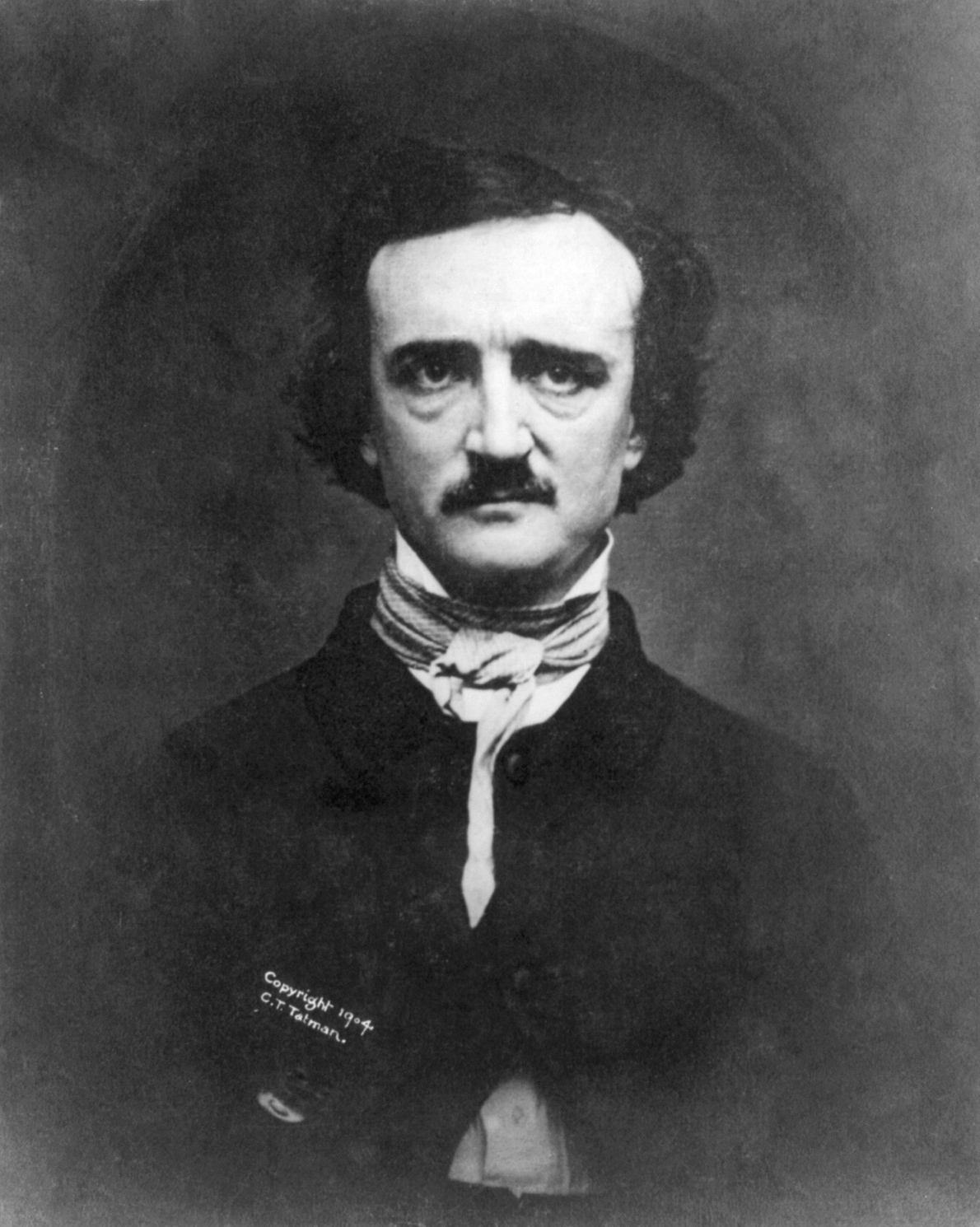horror fiction a photograph of edgar allan poe