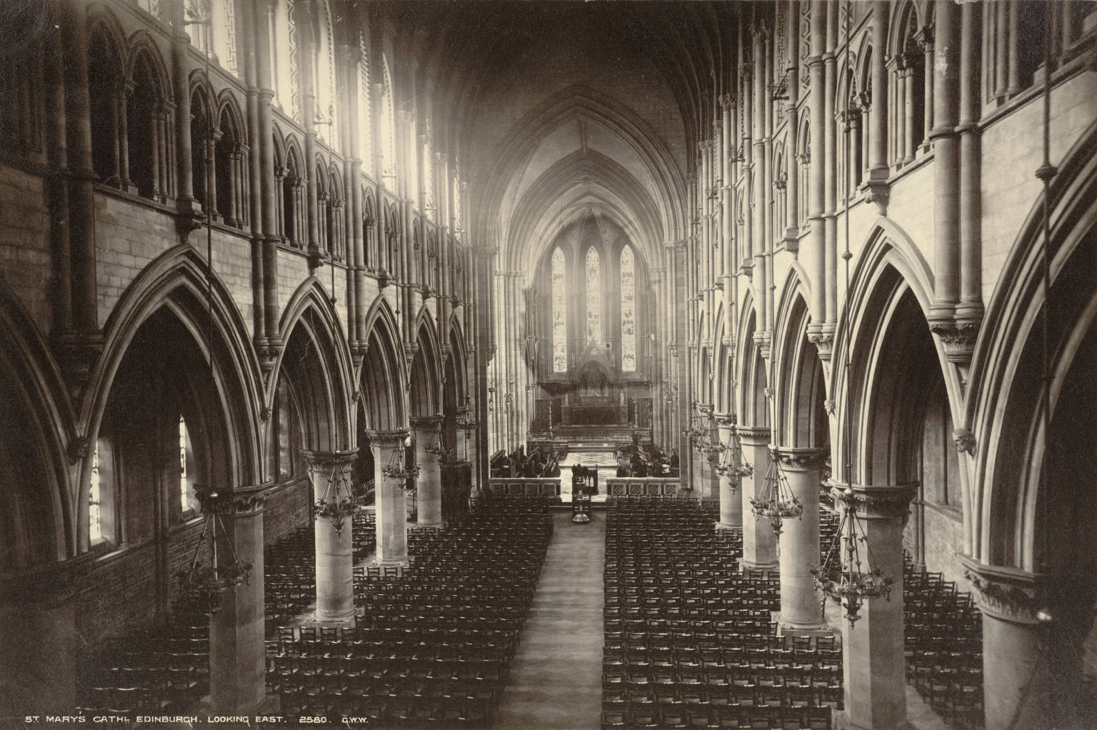 File:Edinburgh. Saint Mary's Episcopal Cathedral, looking ...