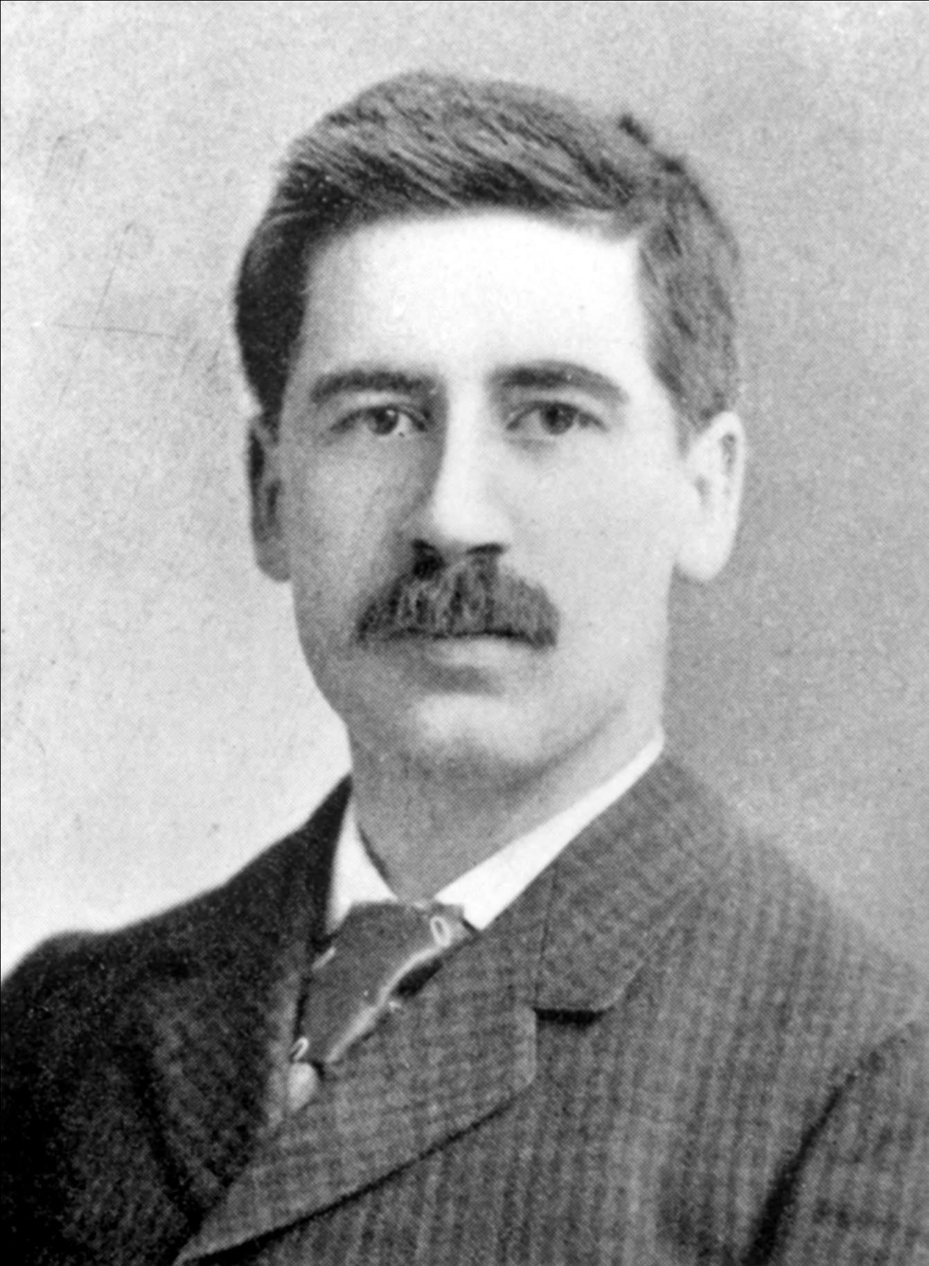 Cheyney as a young professor at the University of Pennsylvania