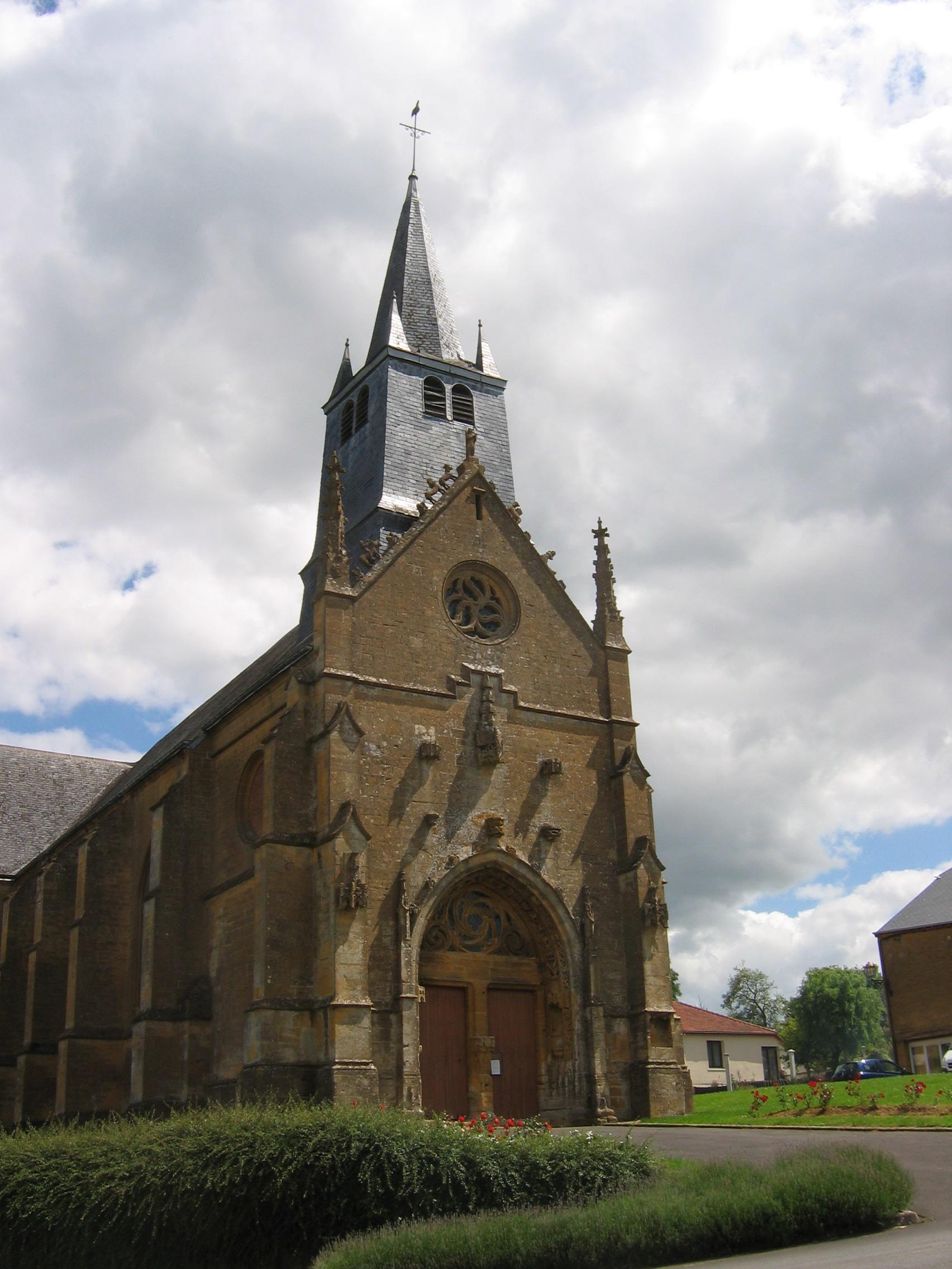 Saint-Marcel France  city pictures gallery : Eglise Saint Marcel Ardennes France vue 02 Wikimedia ...