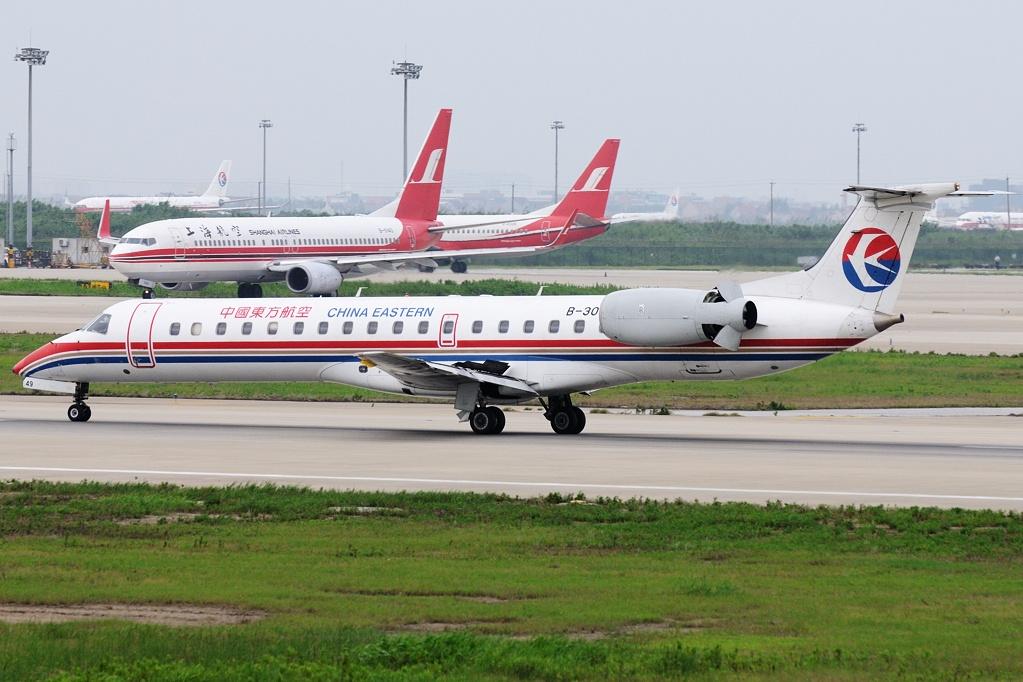 File embraer harbin emb 145li erj 145li china eastern - China eastern airlines bangkok office ...