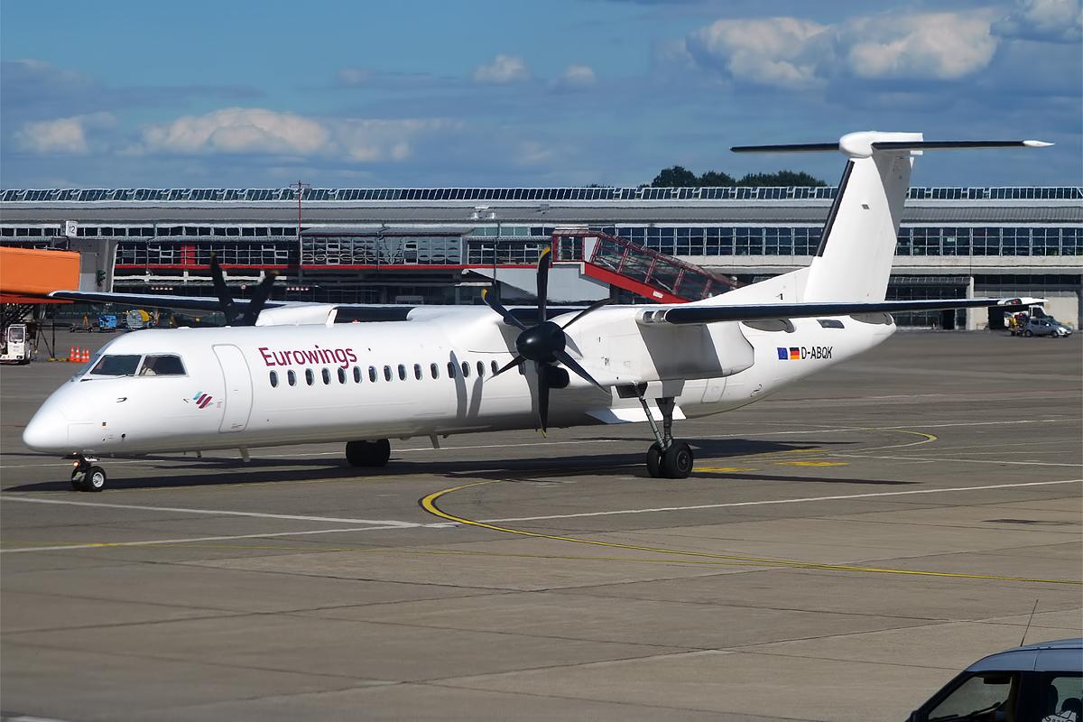 Bildresultat för dash 8 q400 eurowings