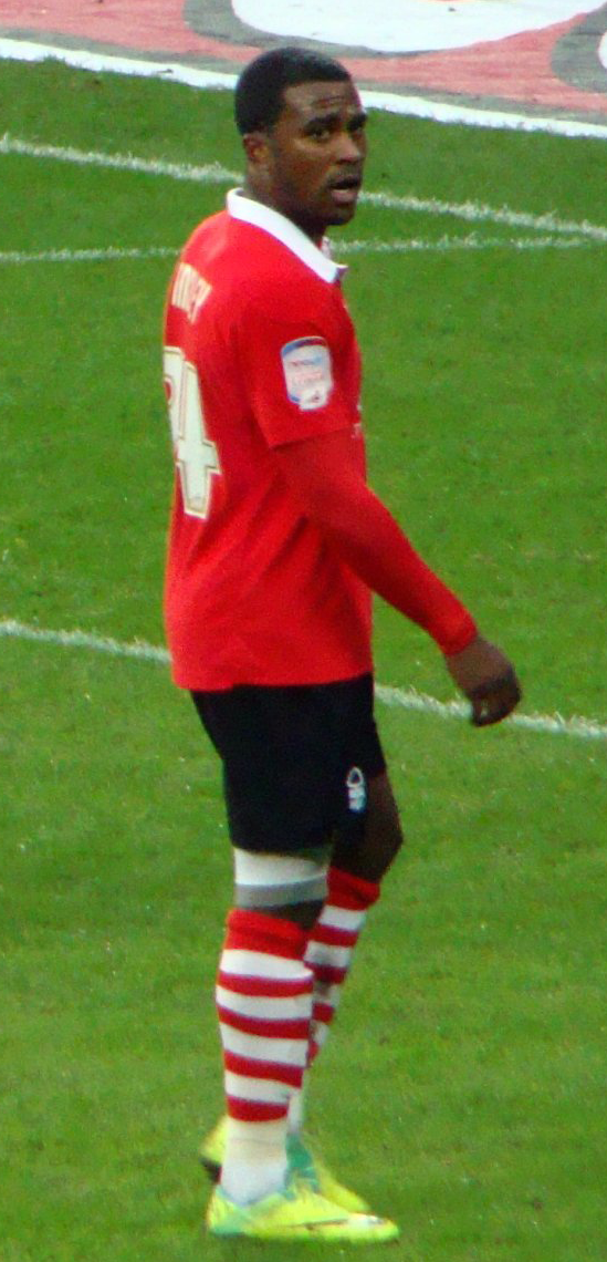 Findley in 2011 als speler van Nottingham Forest