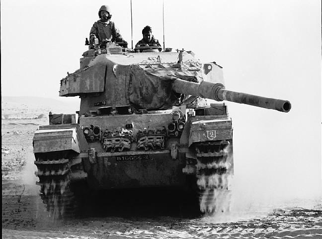 Izraelski czołg Centurion / Źródło: Wikimedia Commons