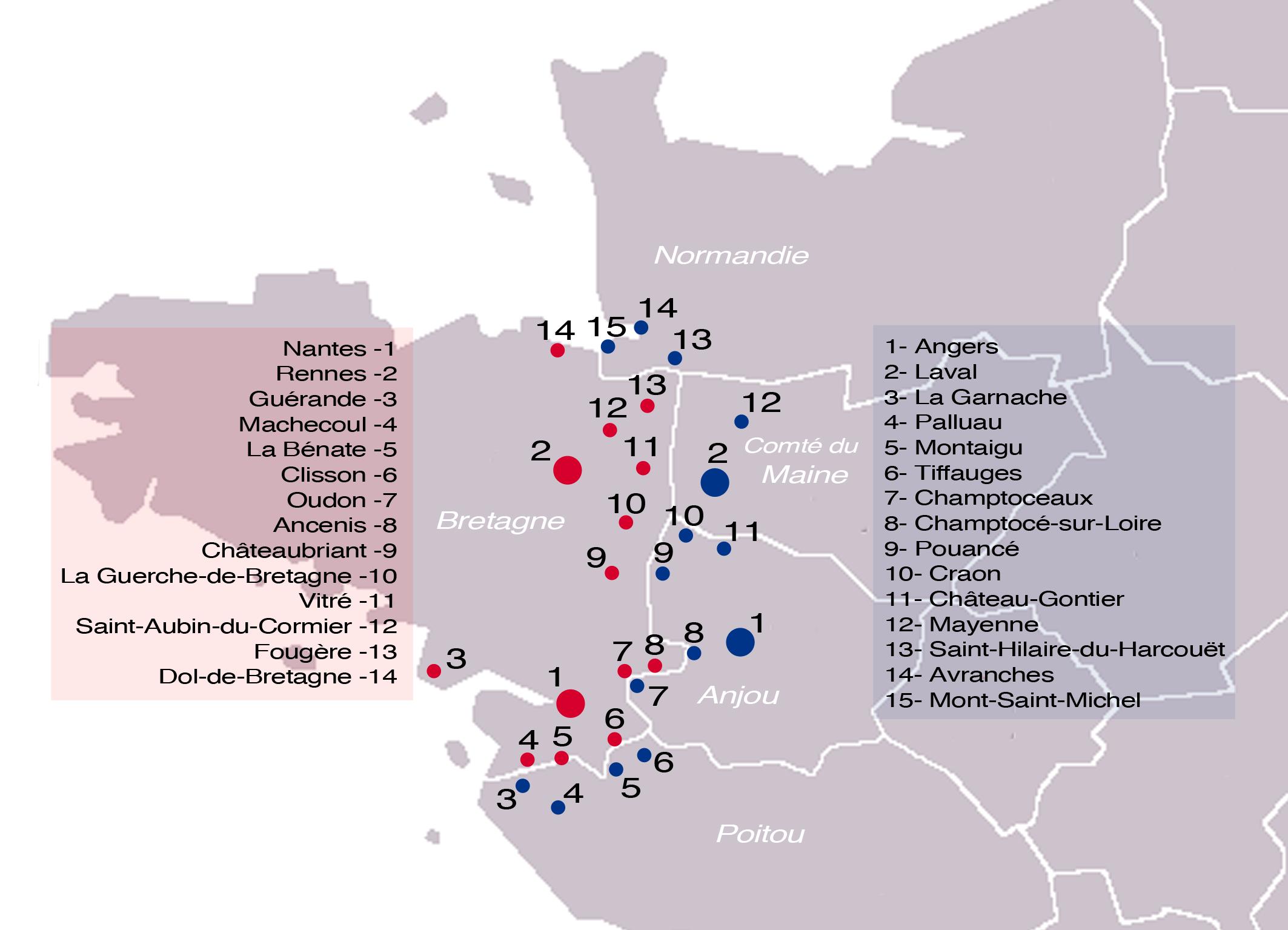 La Bazouge de Chemeré Forteresses_marches_de_Bretagne