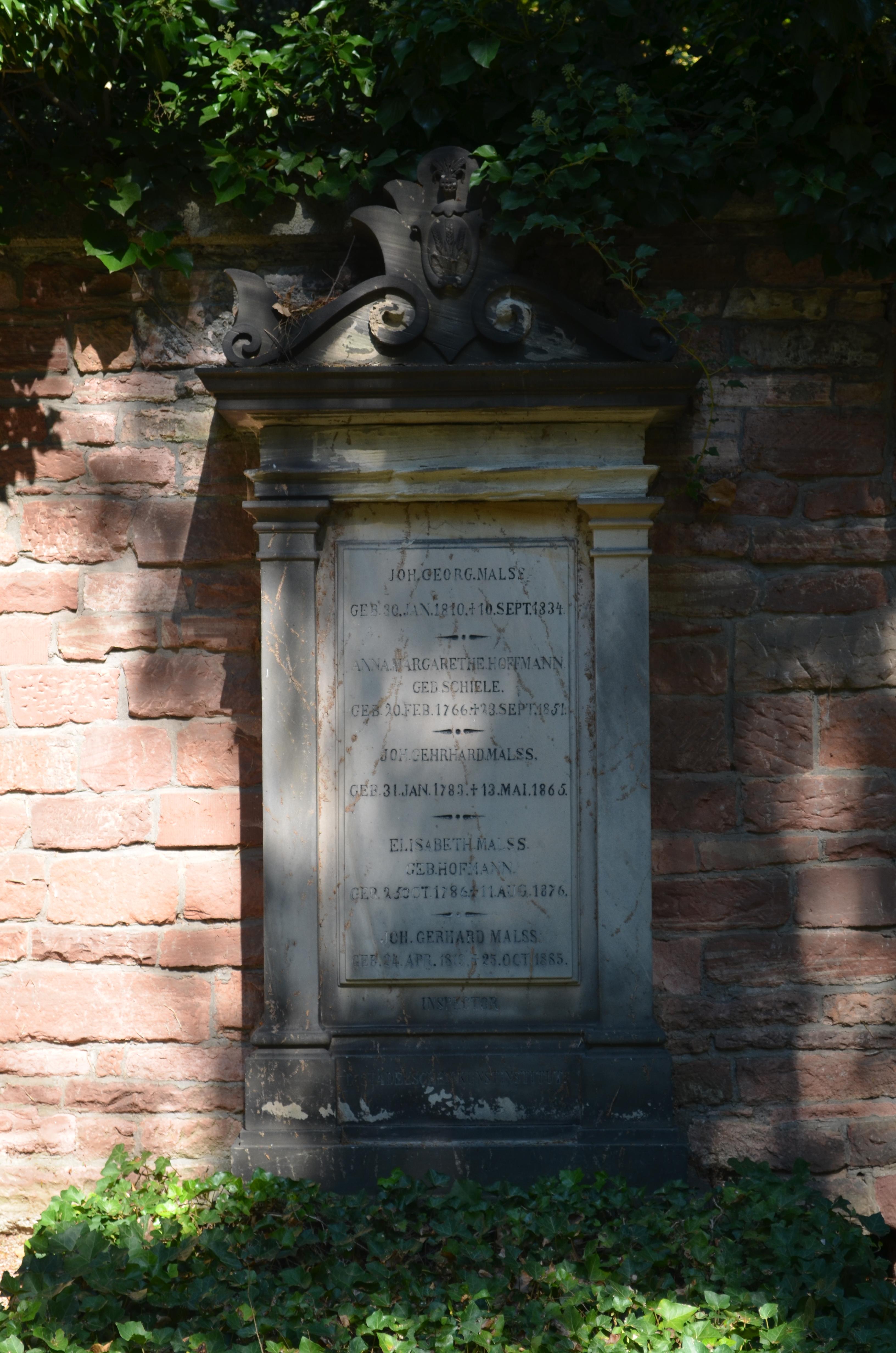 Dateifrankfurt Hauptfriedhof Grab Adm 325 Malssjpg Wikipedia