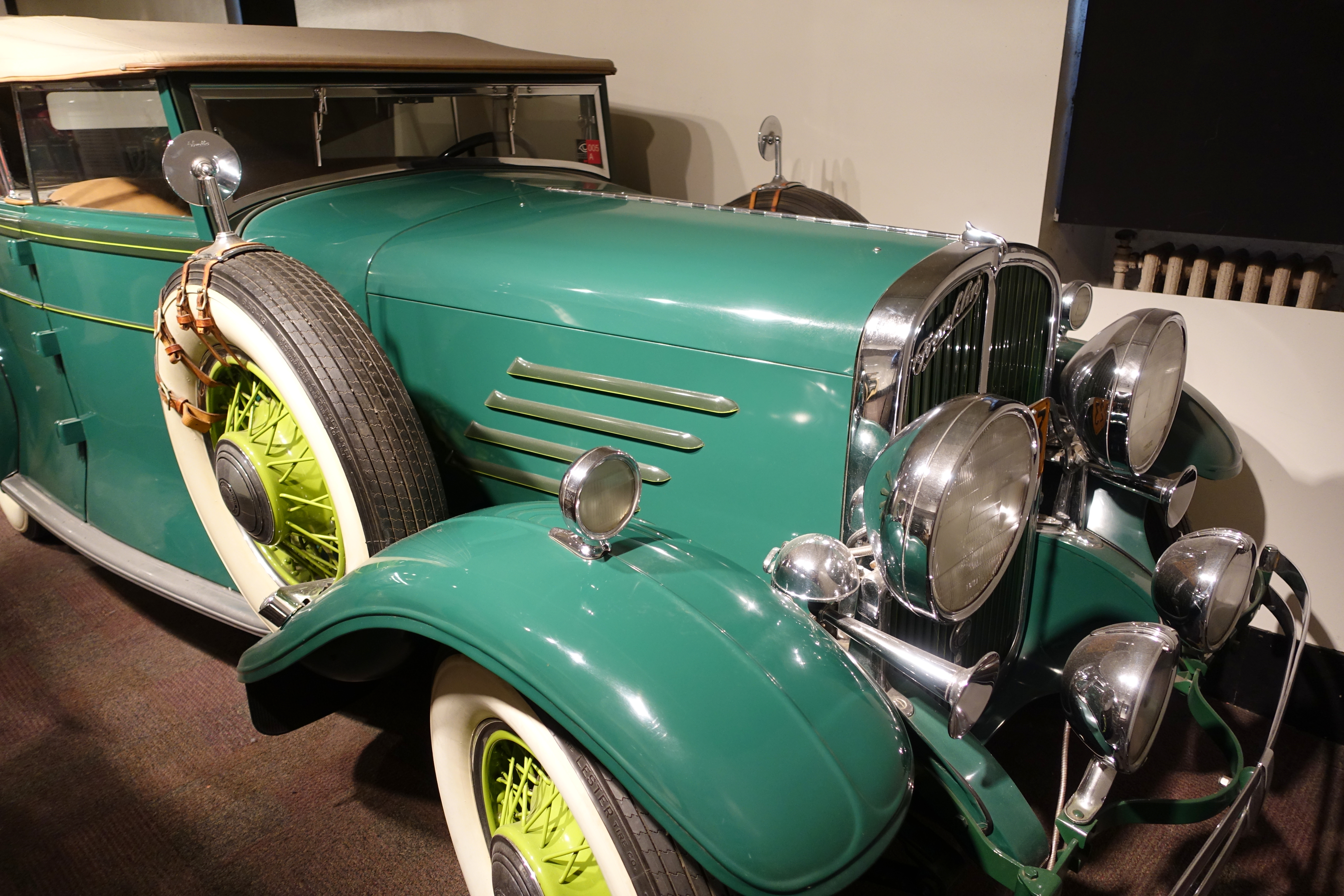 File:Franklin Pirate Phaeton, 1930 - Museum of Science and Industry ...