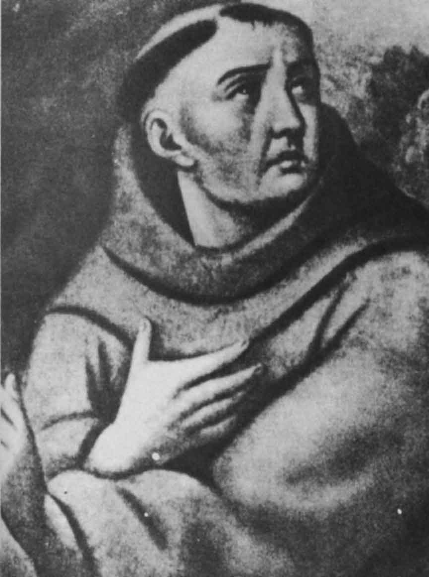 Depiction of Toribio de Benavente