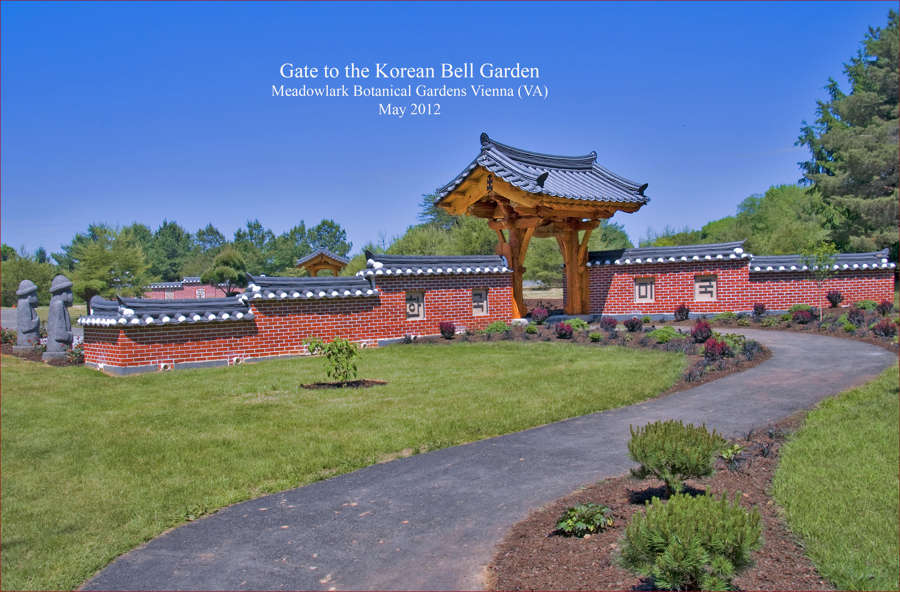 File Gate To The Korean Bell Garden Meadowlark