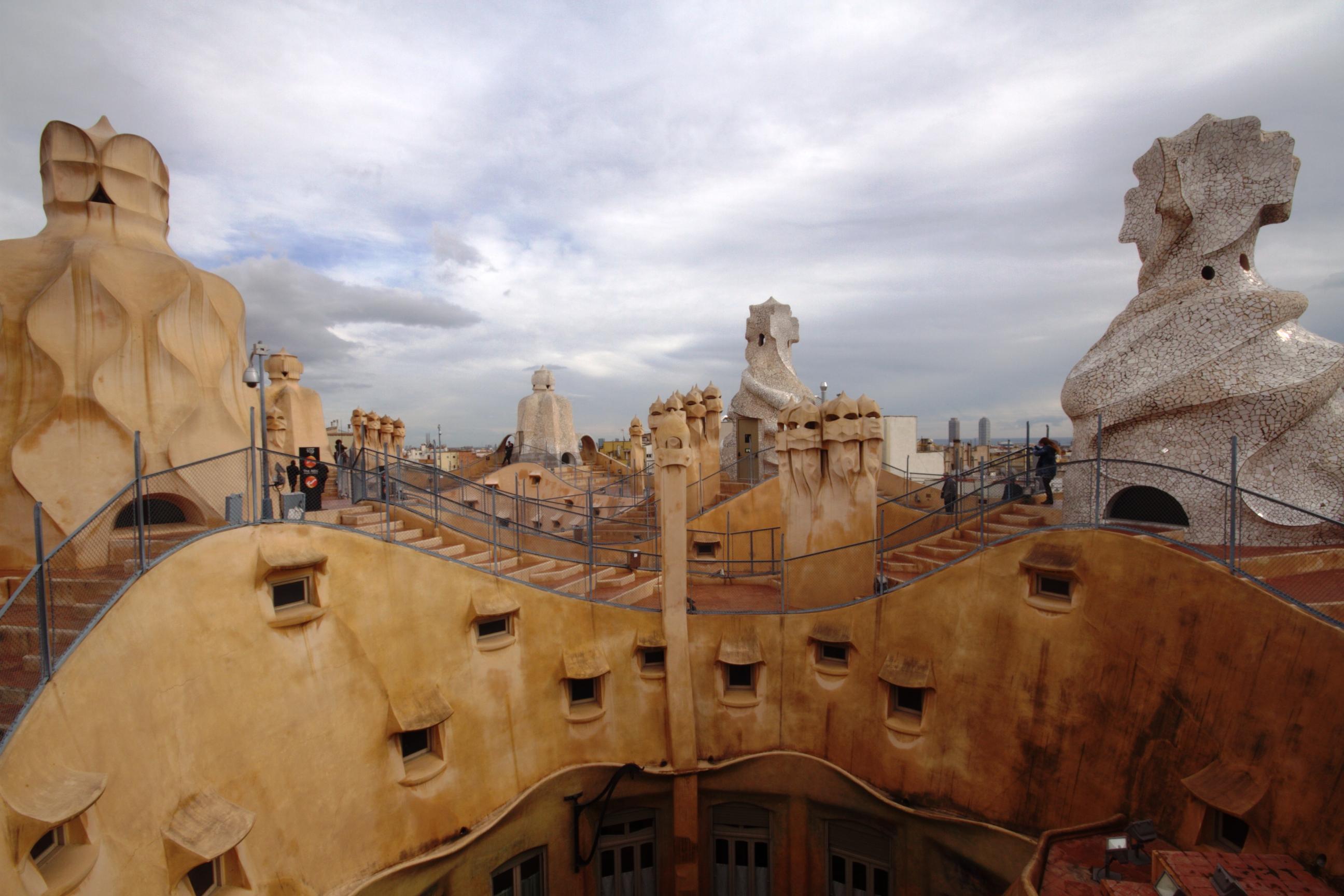 File:Casa mila roof.jpg |Casa Mila Roof