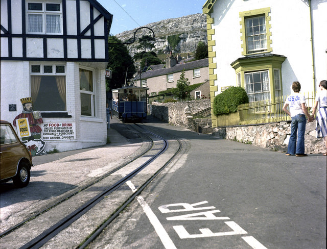 Great Orme Tramway - geograph.org.uk - 481978
