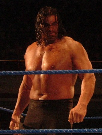 Photo of The Great Khali, a professional wrestler.