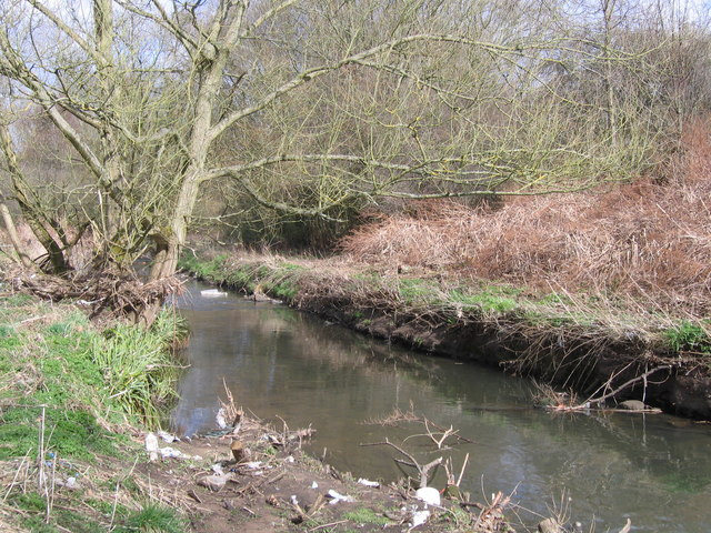 Halcyon day on The River Rea - geograph.org.uk - 1196541