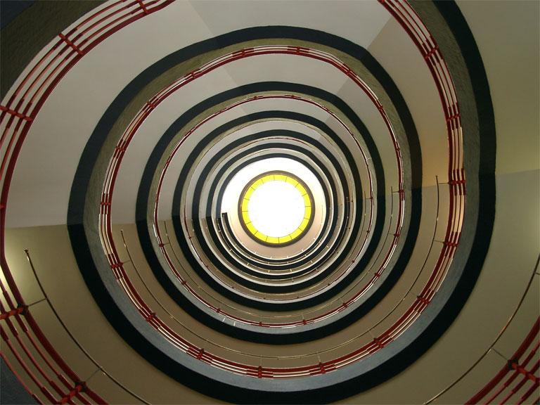 Scala a spirale, Sprinkenhof, Amburgo - Fonte: Wikimedia