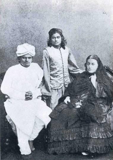Madame Blavatsky in India