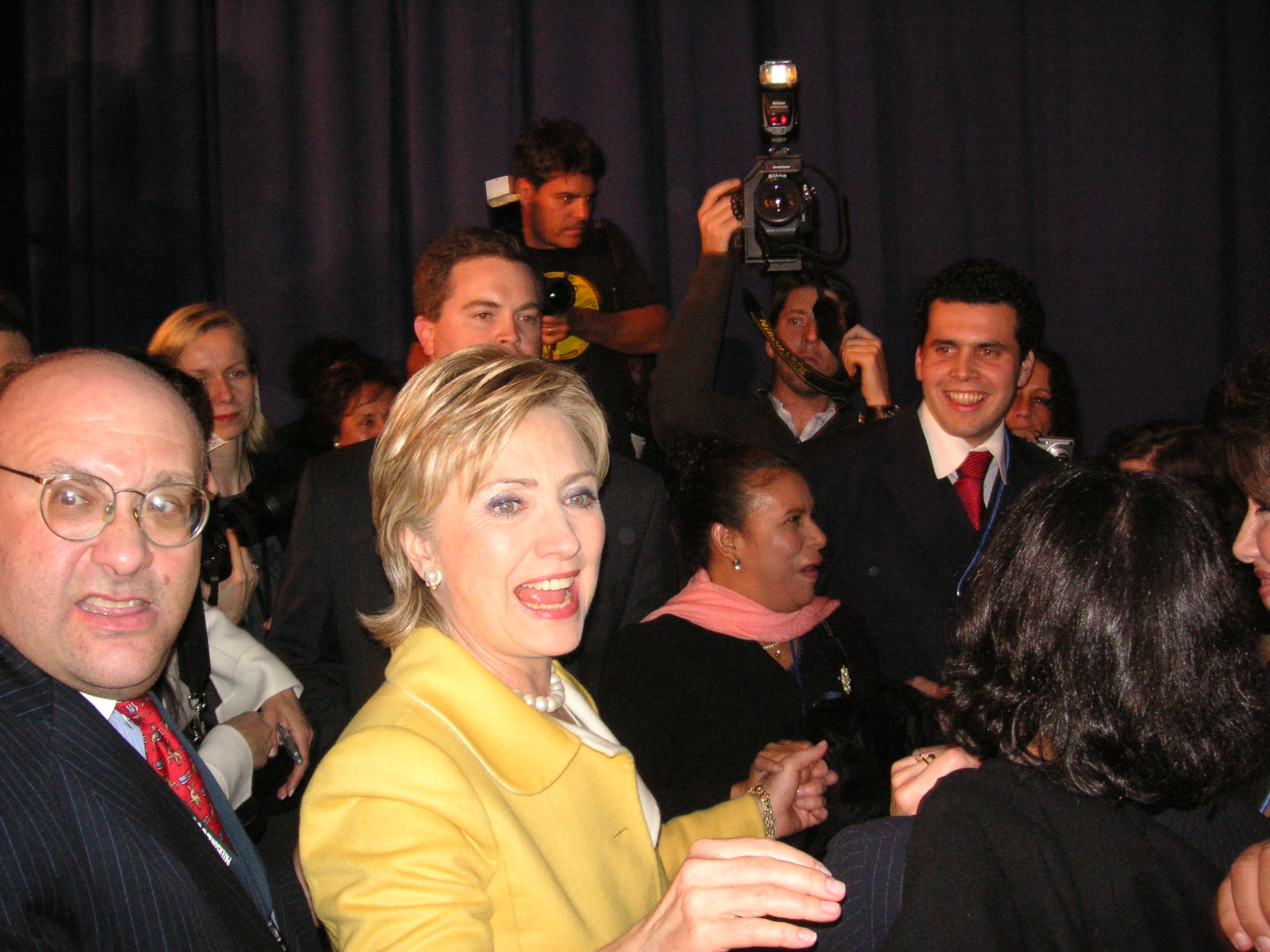 Election Day 2006 >> File Hillary Clinton On Election Day 2006 Jpg Wikimedia Commons