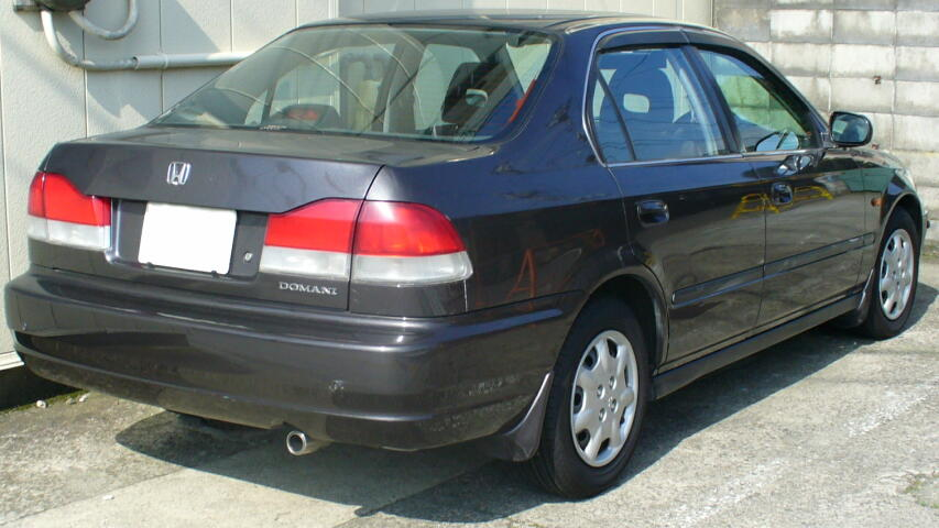 Honda Awd Sedan >> File:Honda Domani 1997 2.jpg - Wikimedia Commons