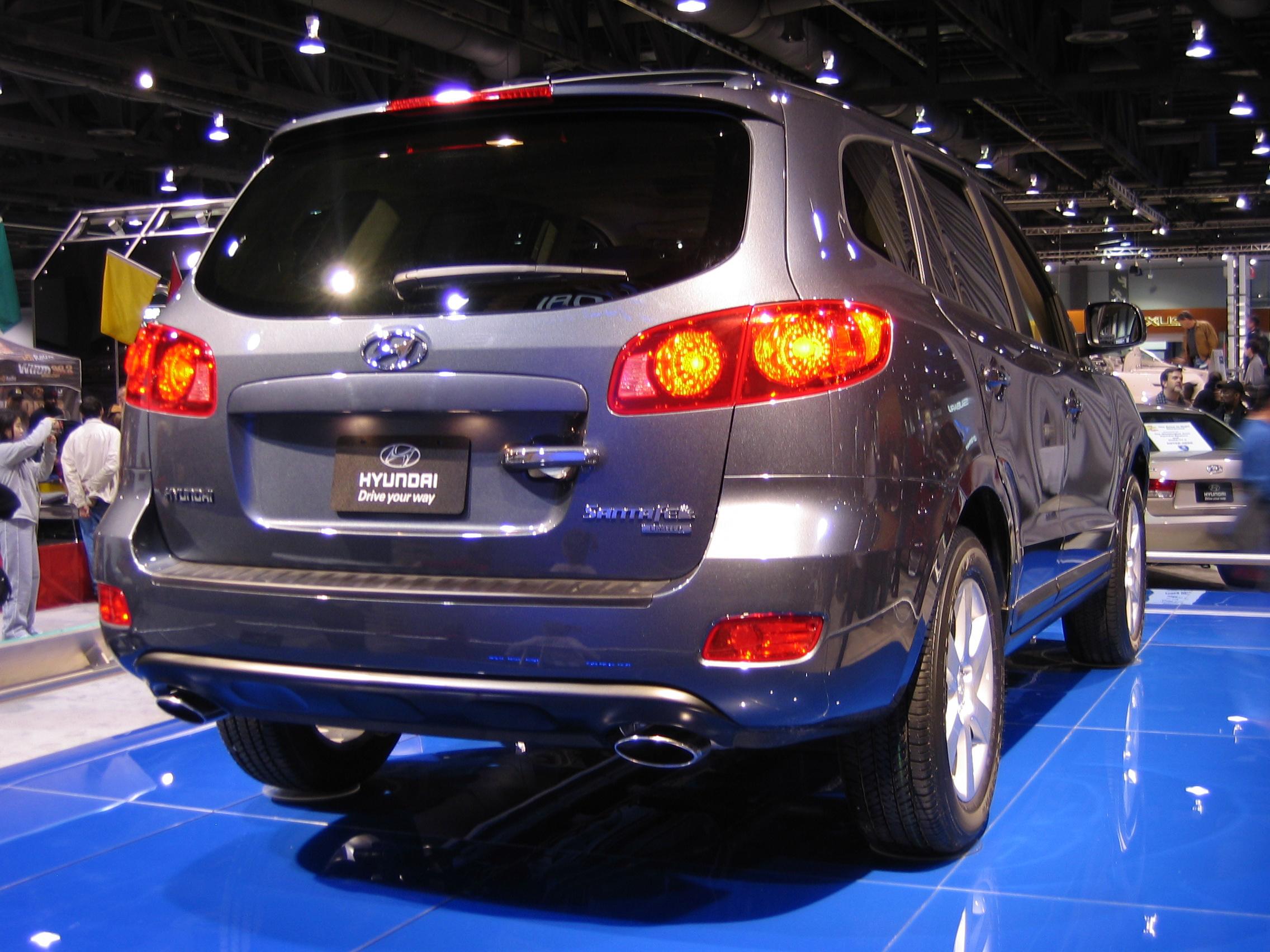 File Hyundai Santafe 2007washauto Jpg Wikimedia Commons