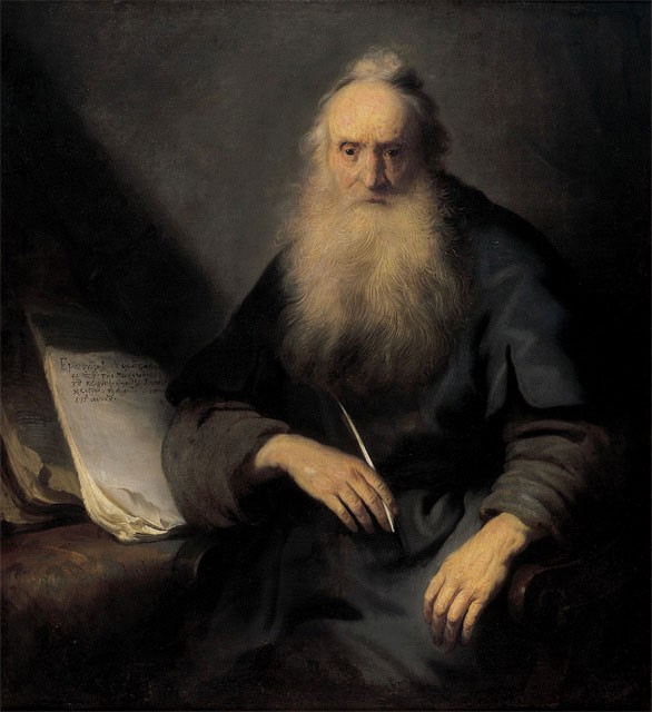 File:Jan Lievens - St. Paul writing to the Thessalonians.jpg - Wikimedia  Commons