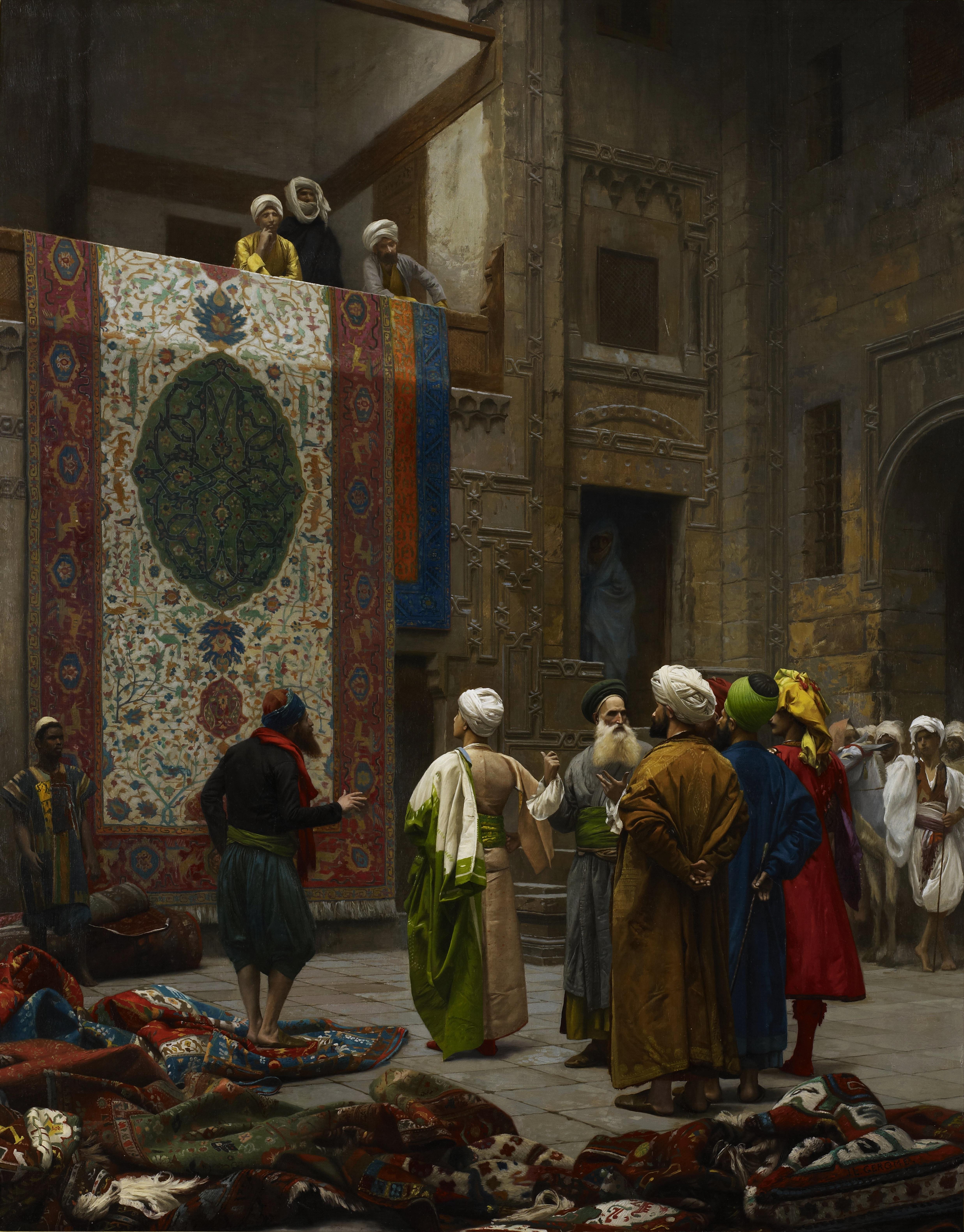 The Carpet Merchant - Jean-Léon Gérôme