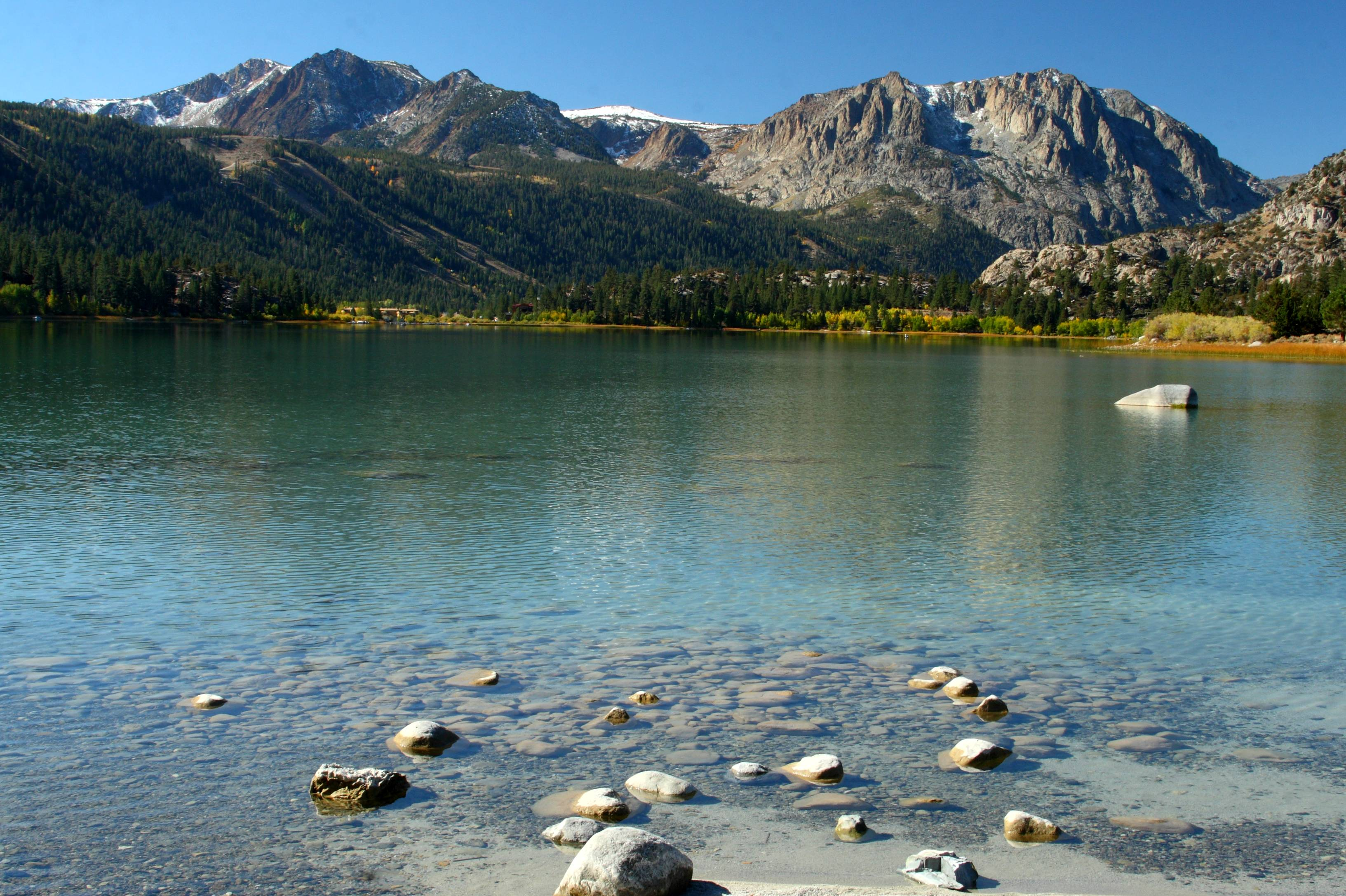File June Lake With Sierra Crest Jpg Wikipedia