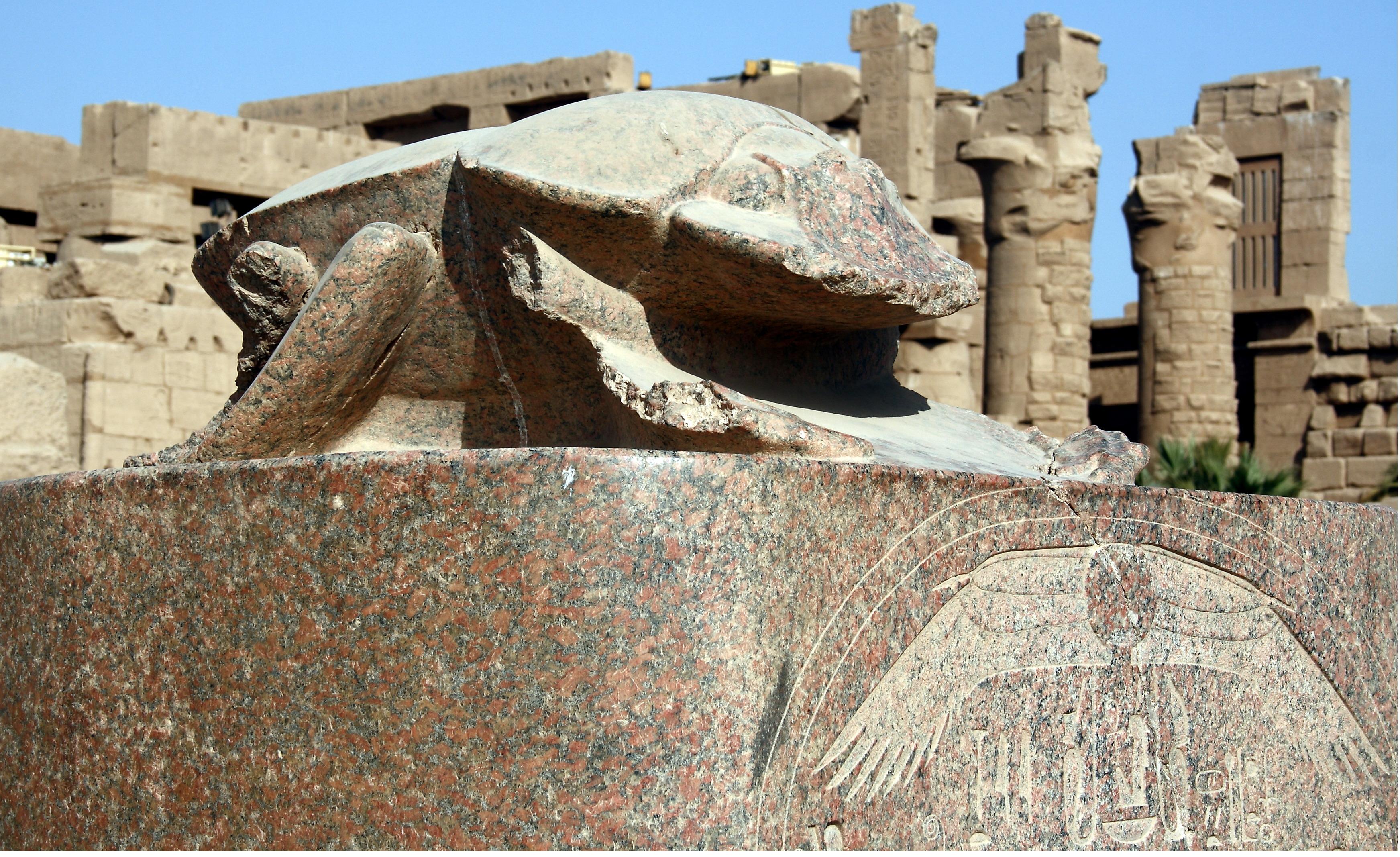 File:Karnak temple, Skarabäus 9518.JPG
