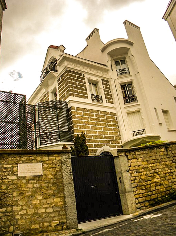 File La Maison De Dalida Bute Montmartre Paris Jpg Wikimedia Commons