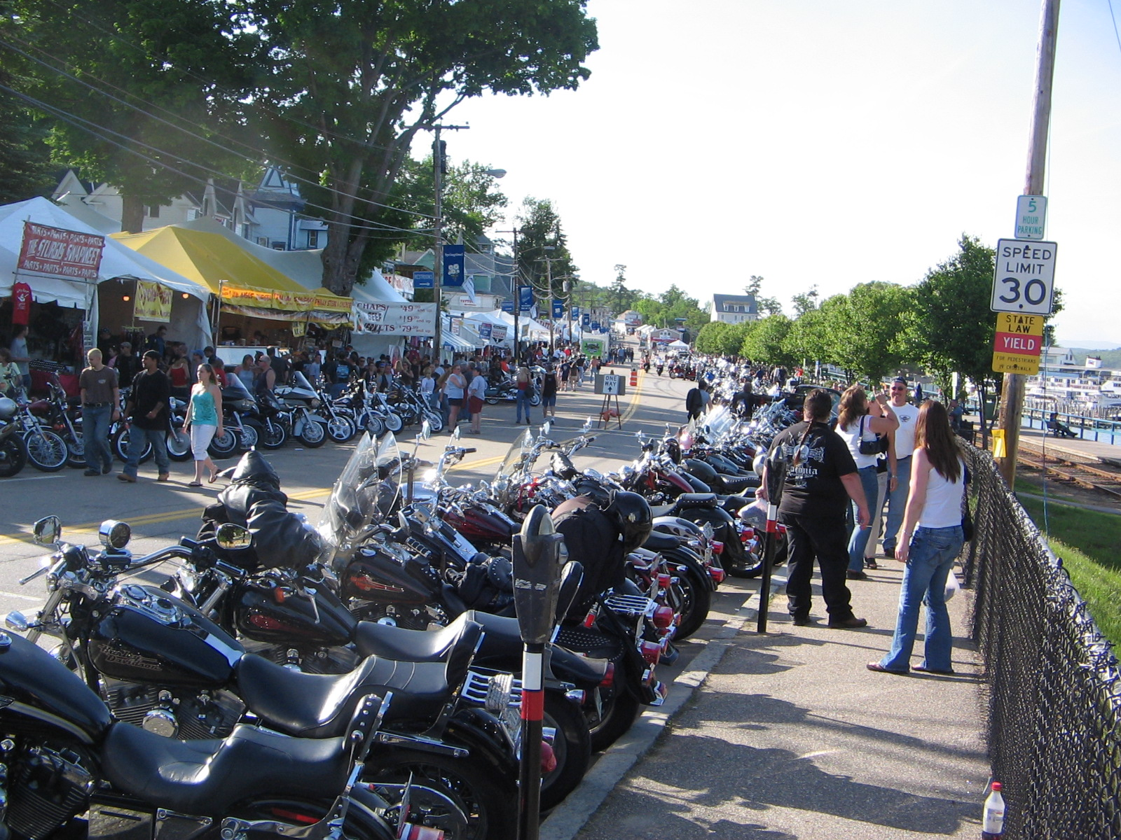 Description Laconia Bike Week 2007 Line-up.JPG
