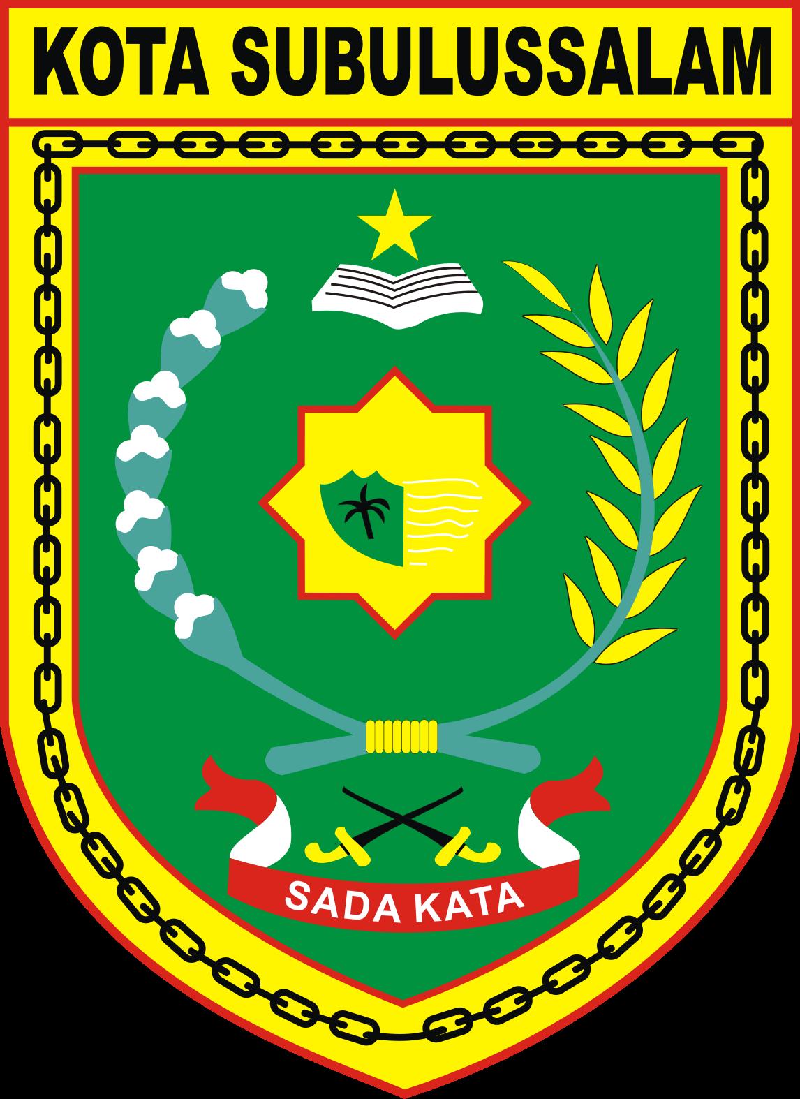 File Lambang Kota Subulussalam Png Wikimedia Commons
