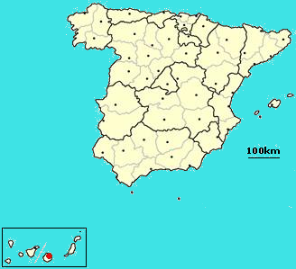 Las Palmas de Gran Canaria, Spain location.png