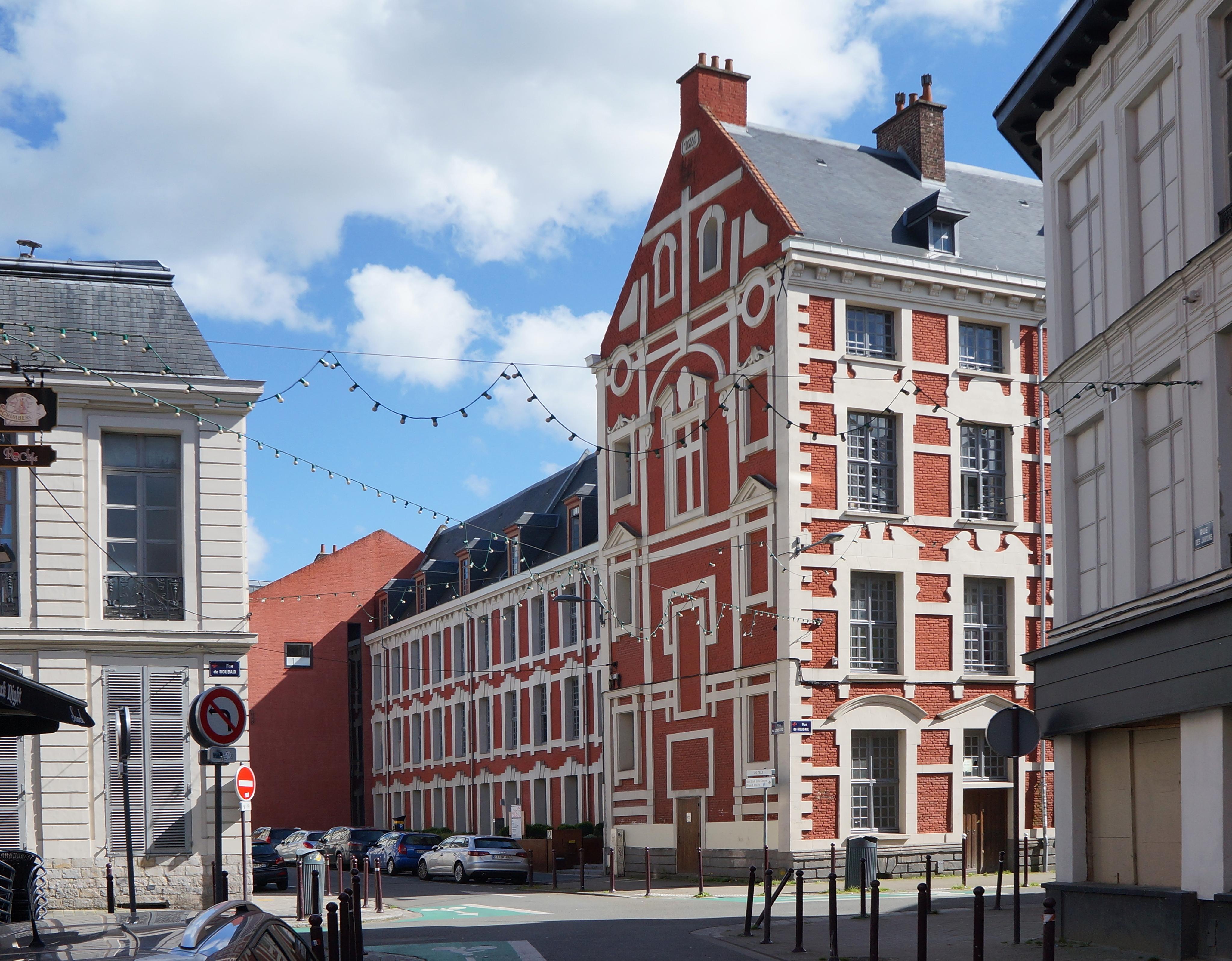 Entreprise Générale Du Batiment Lille rue du lombard (lille) — wikipédia