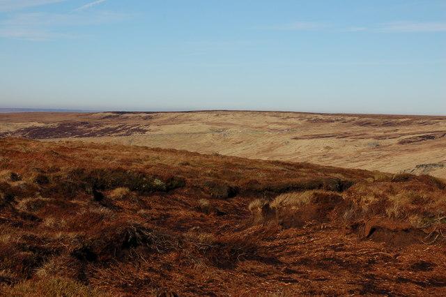 Looking towards Saddleworth Moor from beyond Ravenstones - geograph.org.uk - 707504