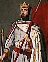Depiction of Luis VII de Francia