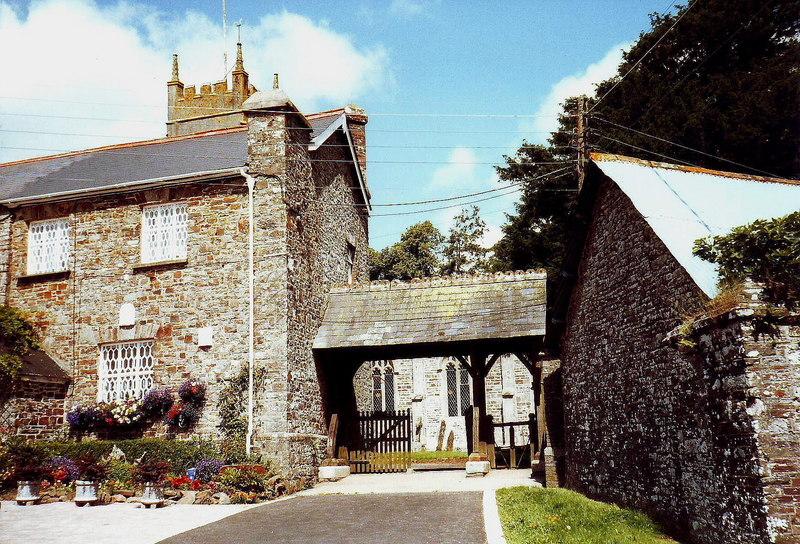 Lych gate, Chawleigh, Devon - geograph.org.uk - 1725970
