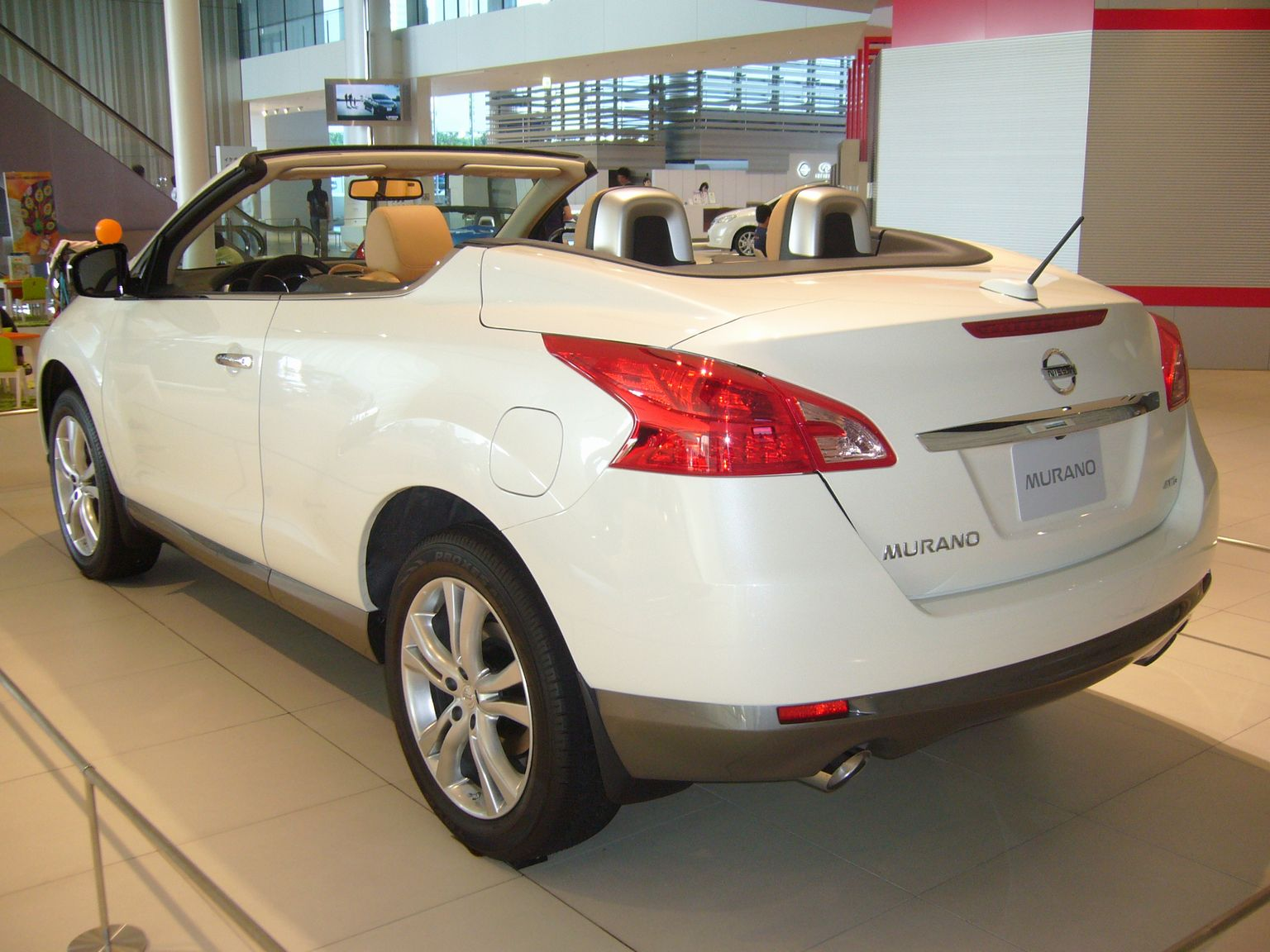 Wiki: Nissan Murano - upcScavenger