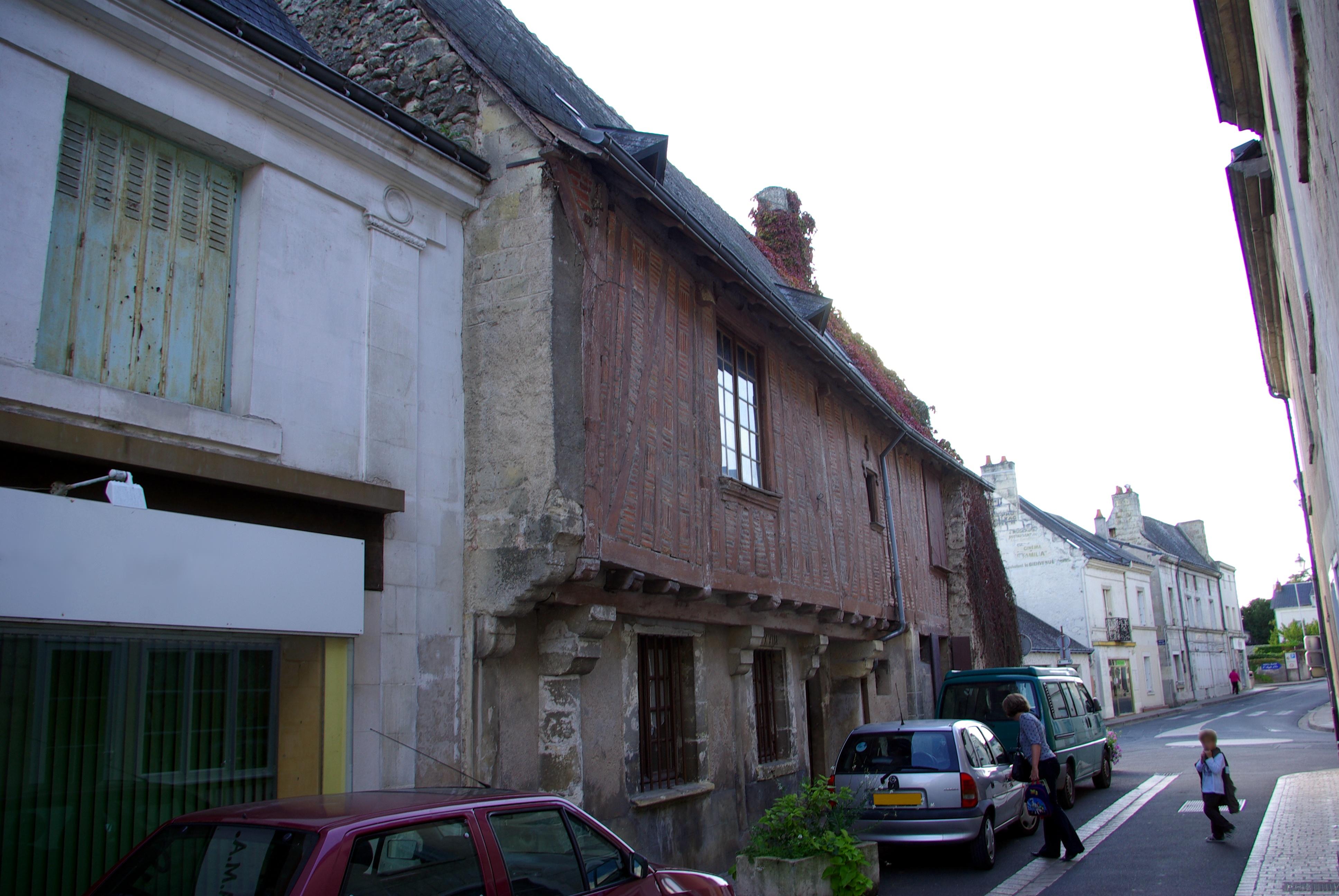 File:Maison 21 rue de la mairie, XVe, Azay-le-Rideau 2.jpg ...