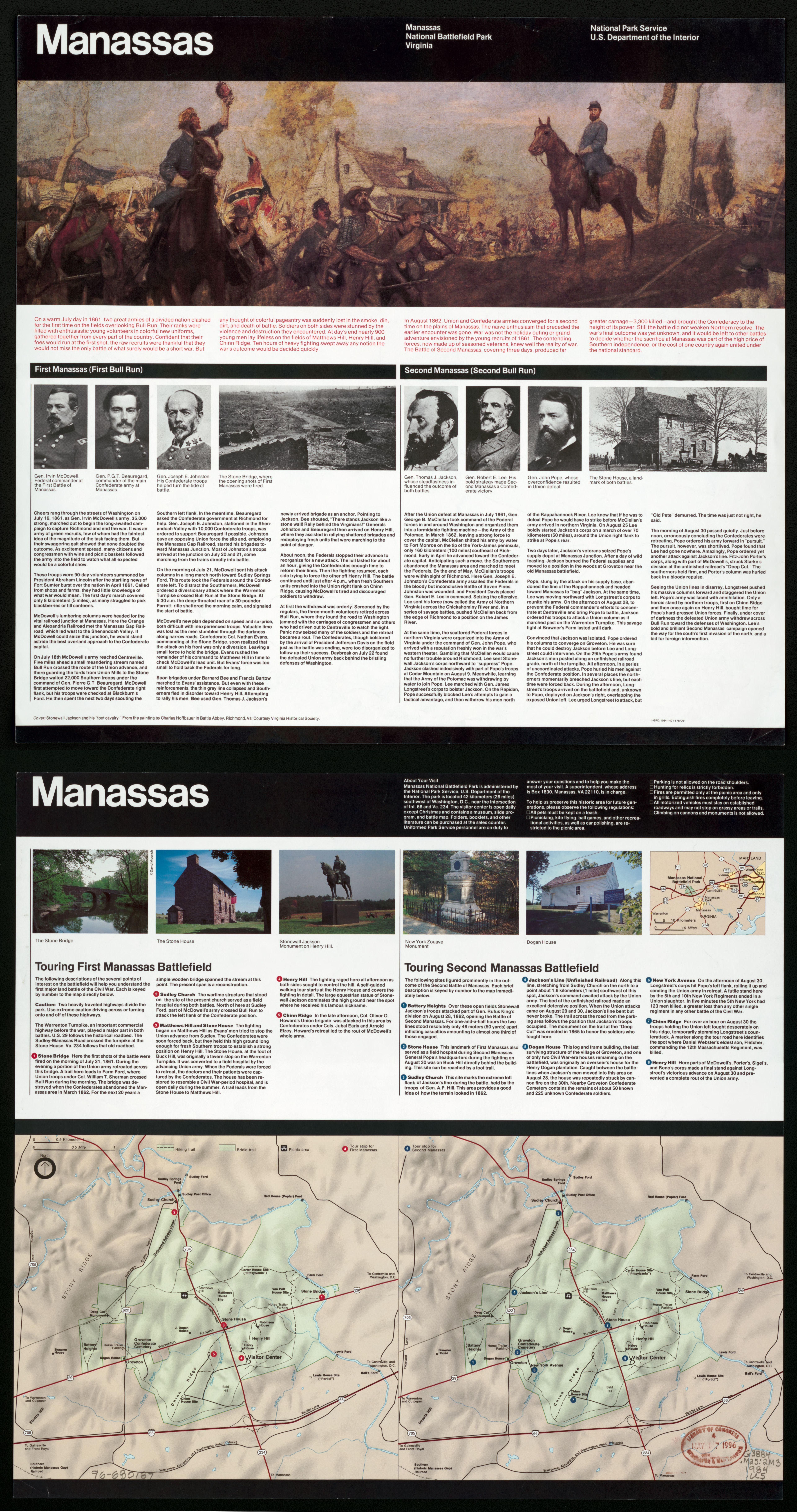 File Manassas National Battlefield Park Virginia LOC