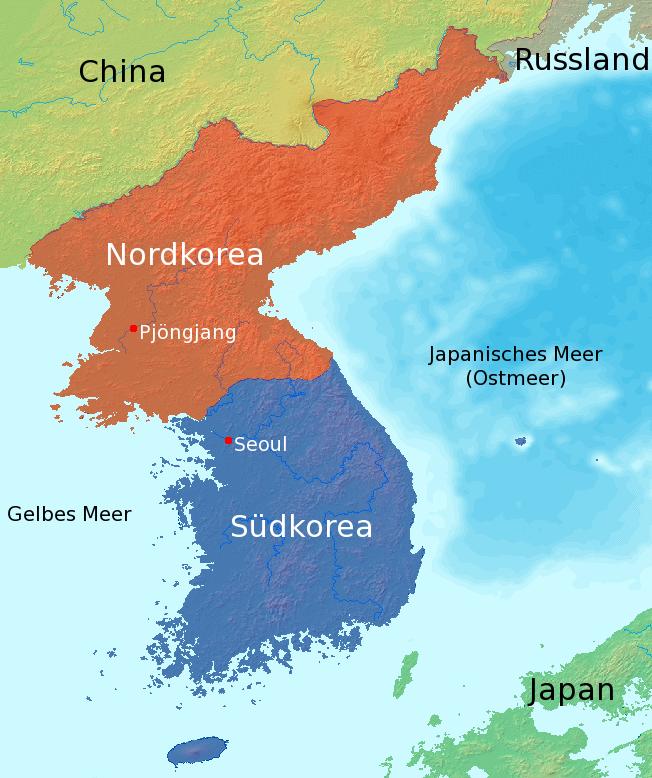 korea kart File:Map korea german labels.png   Wikimedia Commons korea kart