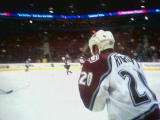 Mark Rycroft Canadian ice hockey player