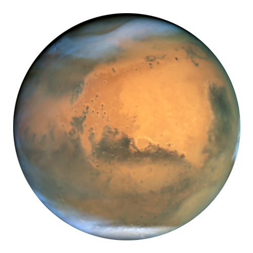 Mars transparent Learn to find your way around the night sky
