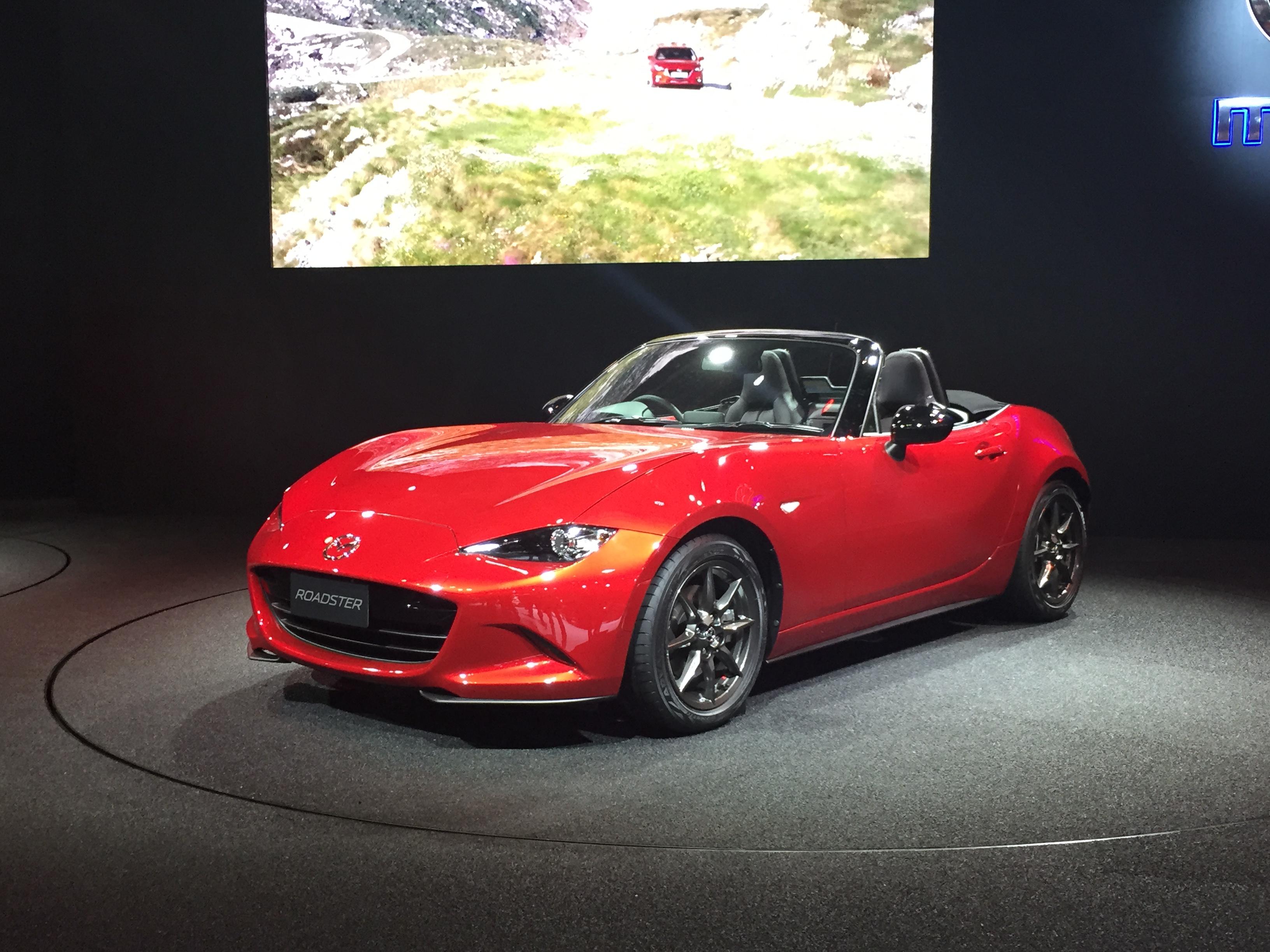 File:Mazda Roadster 02   Tokyo Auto Salon 2015