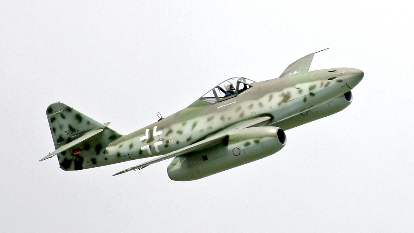 Első sugárhajtású repülőgép