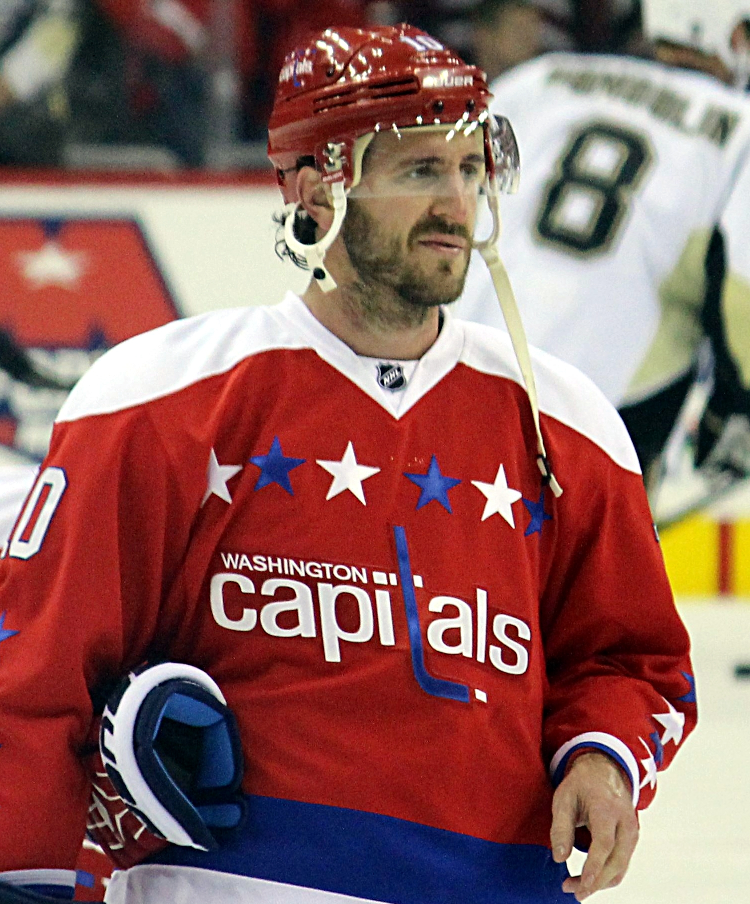 Richards with the [[Washington Capitals]] in 2016