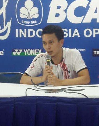 Mohammad Ahsan Indonesia Open 2016