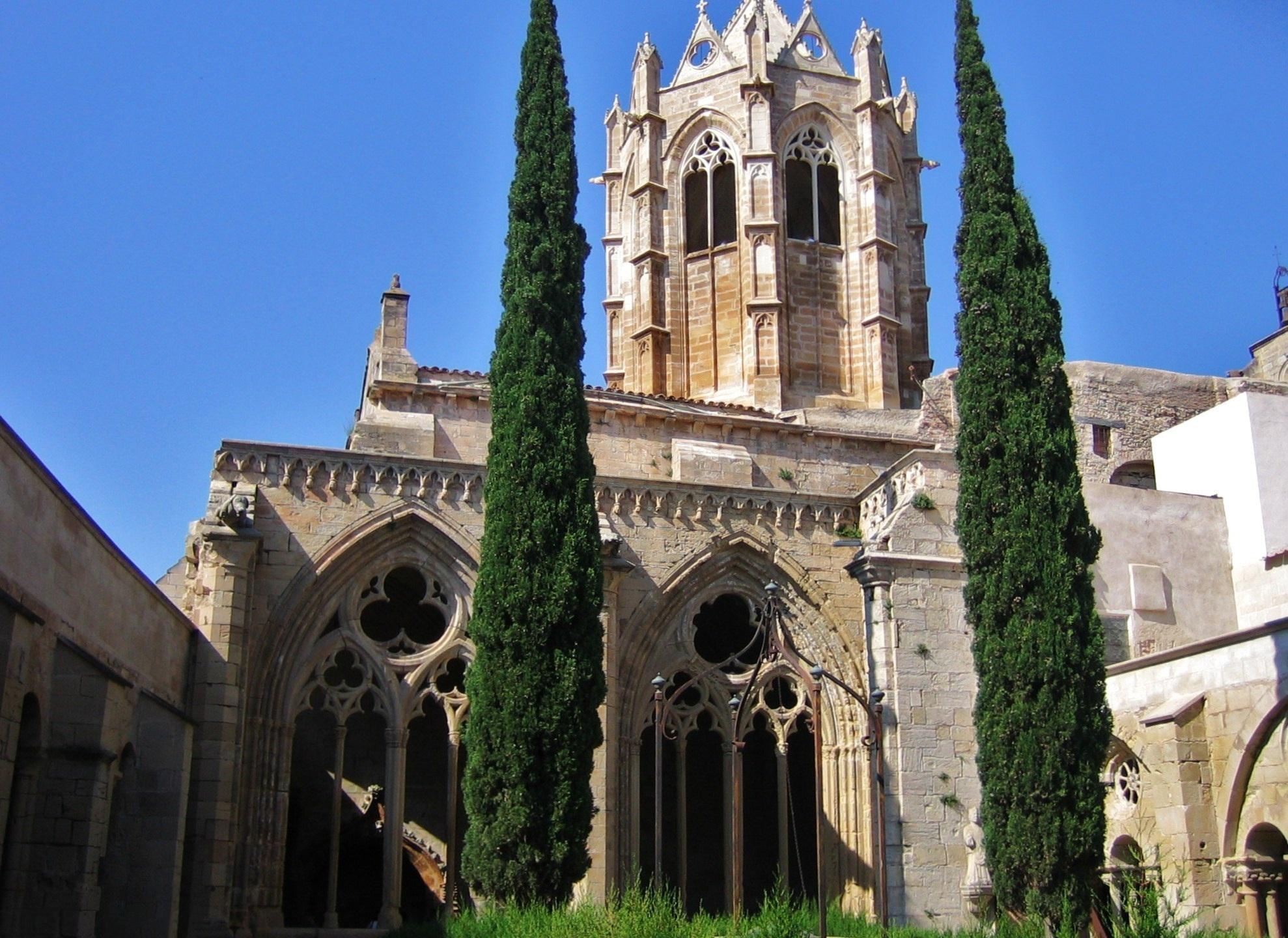 File:Monestir de Santa Maria de Vallbona (Vallbona de les Monges) - 2.jpg