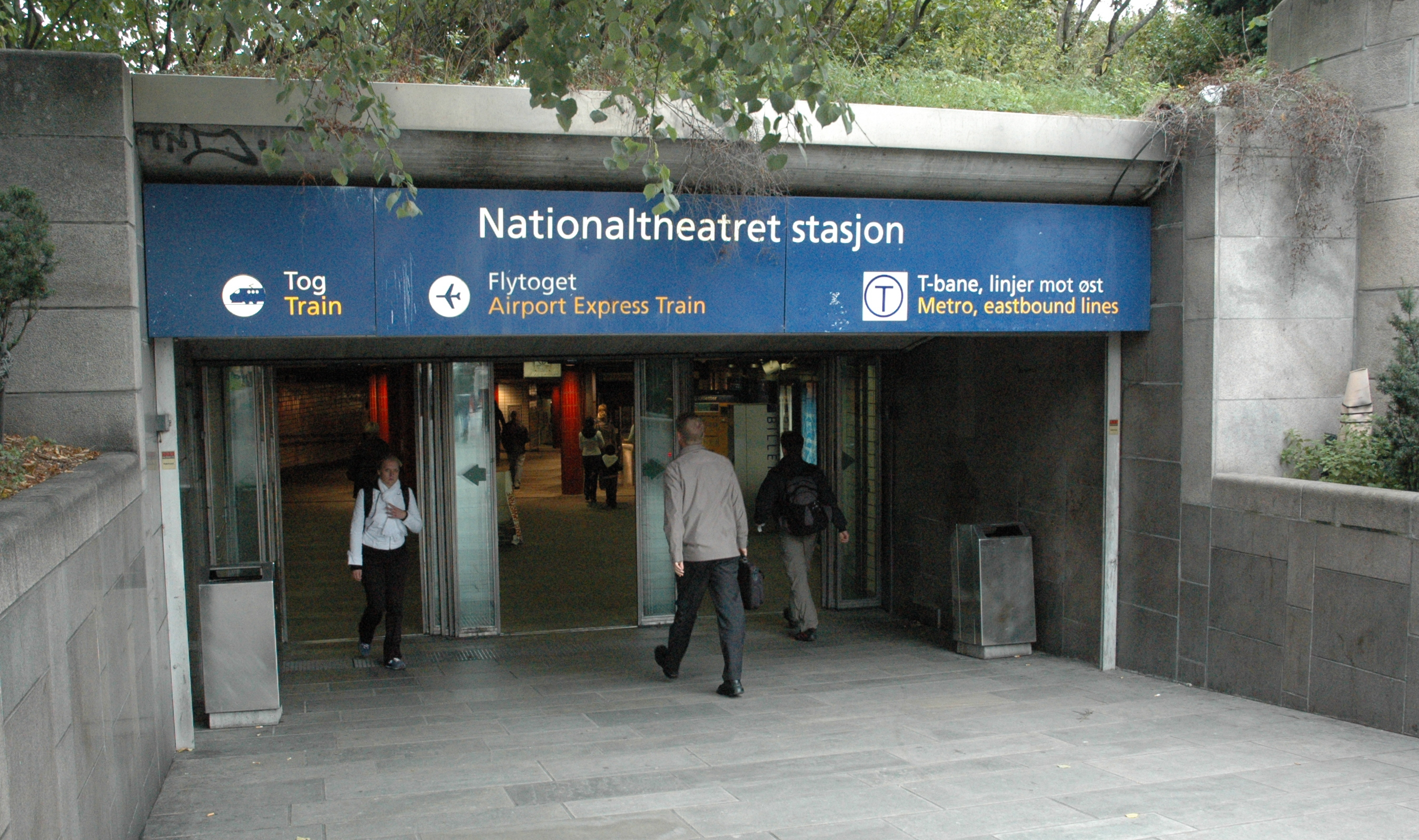 Nationaltheatret Station Wikiwand