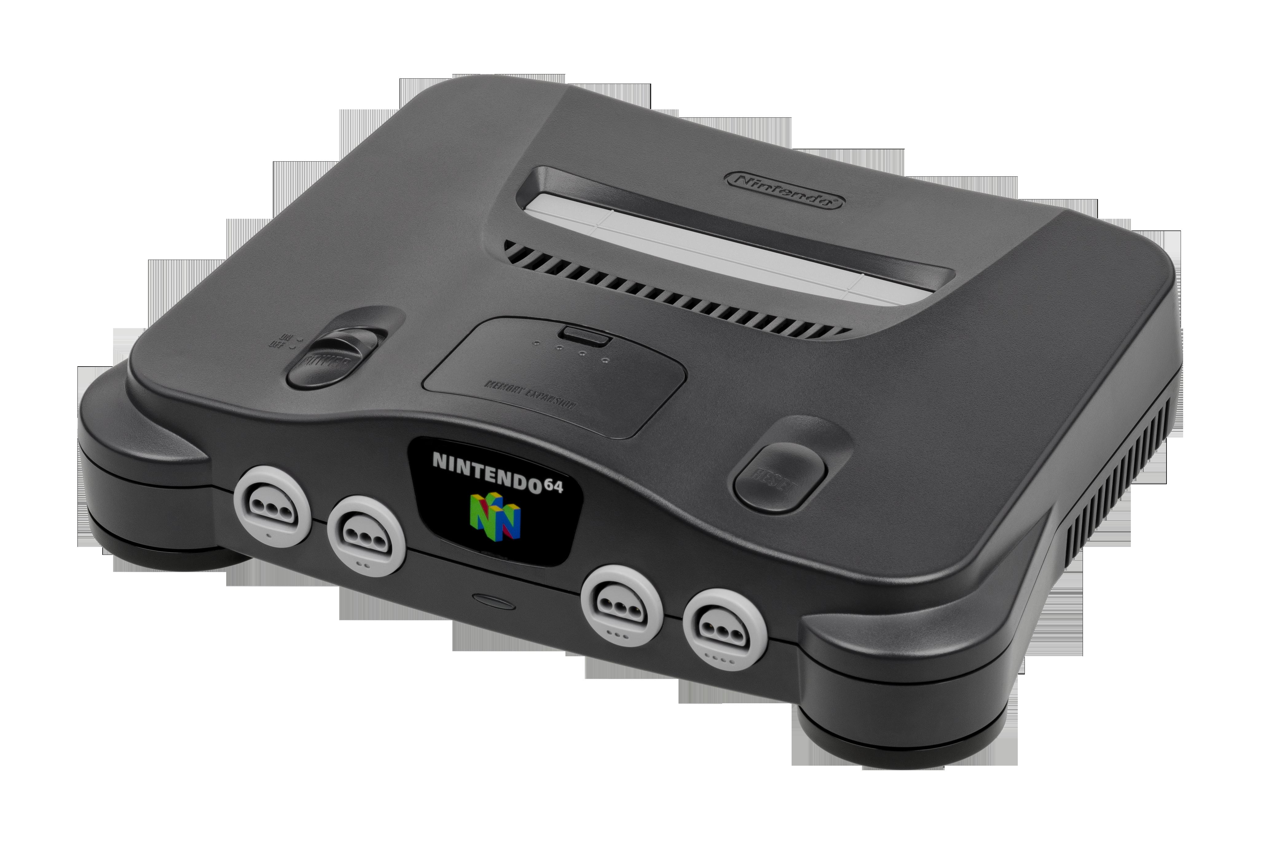 File nintendo 64 console wikimedia commons - Super nintendo 64 console ...