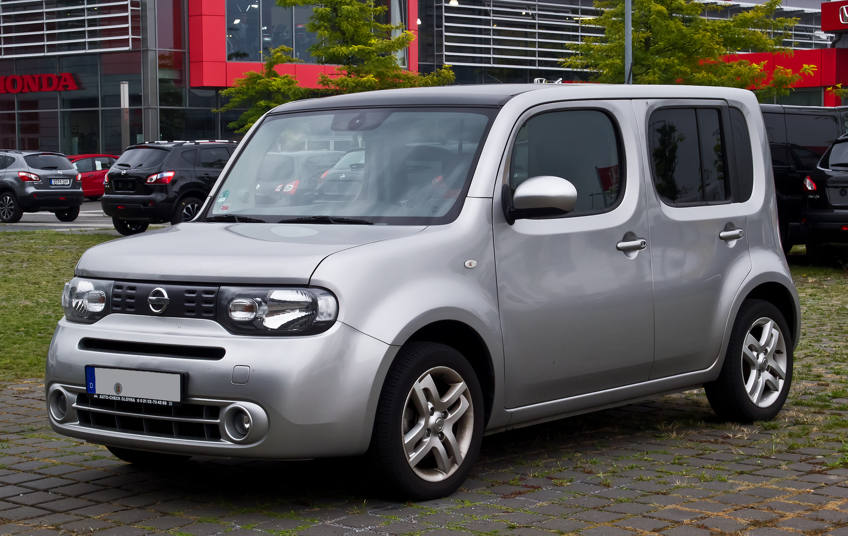 nissan cube wikipedia Nissan Cube Grille