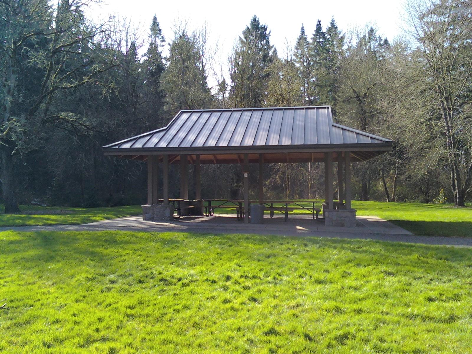 File Noble Woods Park Picnic Shelter Hillsboro Oregon